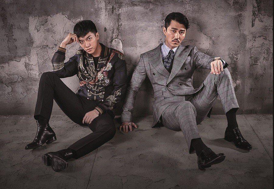 李昇基(左)、車勝元因戲成好友。圖/衛視中文台提供