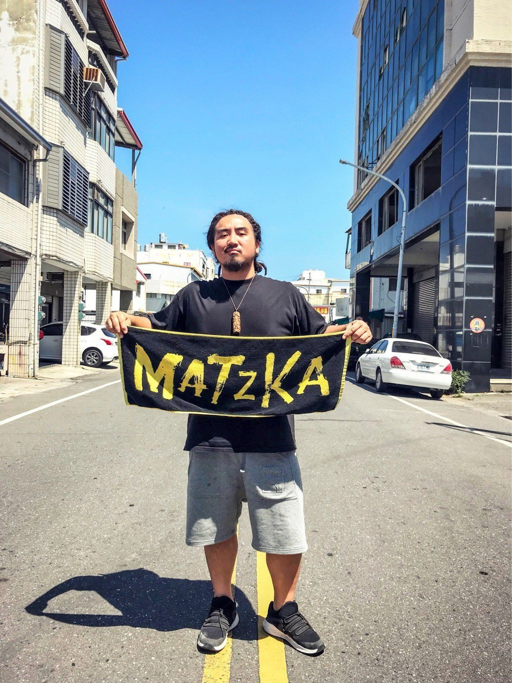 Matzka在台東開唱。圖/角頭音樂提供