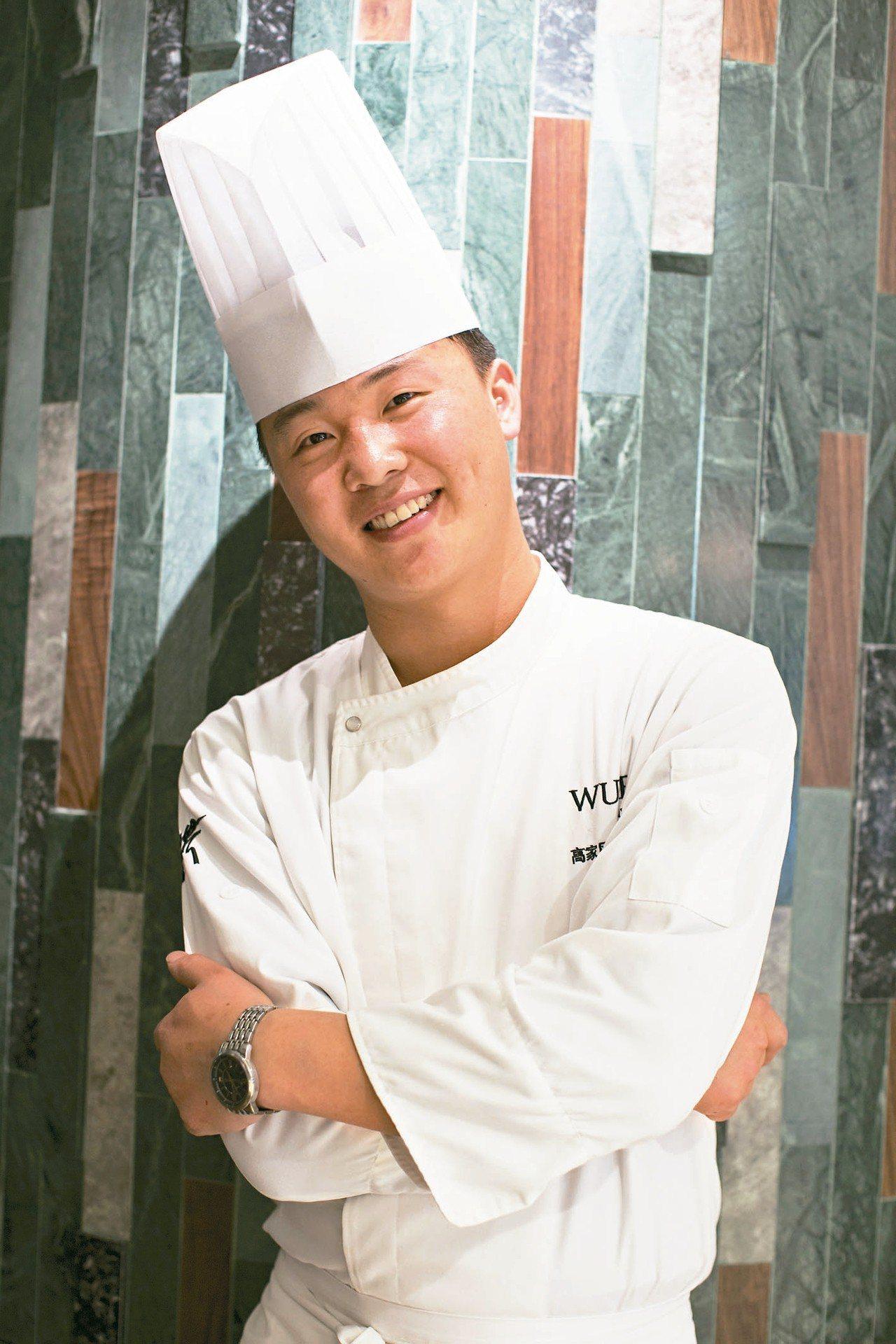 上海米其林一星的蔬食餐廳大蔬無界主廚高家風。 圖/蘭餐廳提供