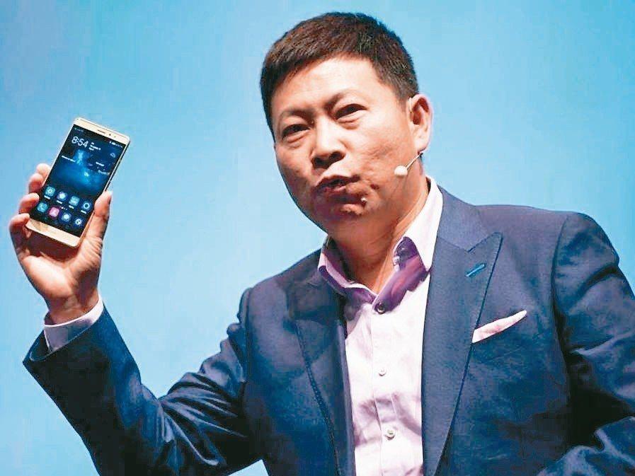 華為消費者業務CEO余承東 網路照片