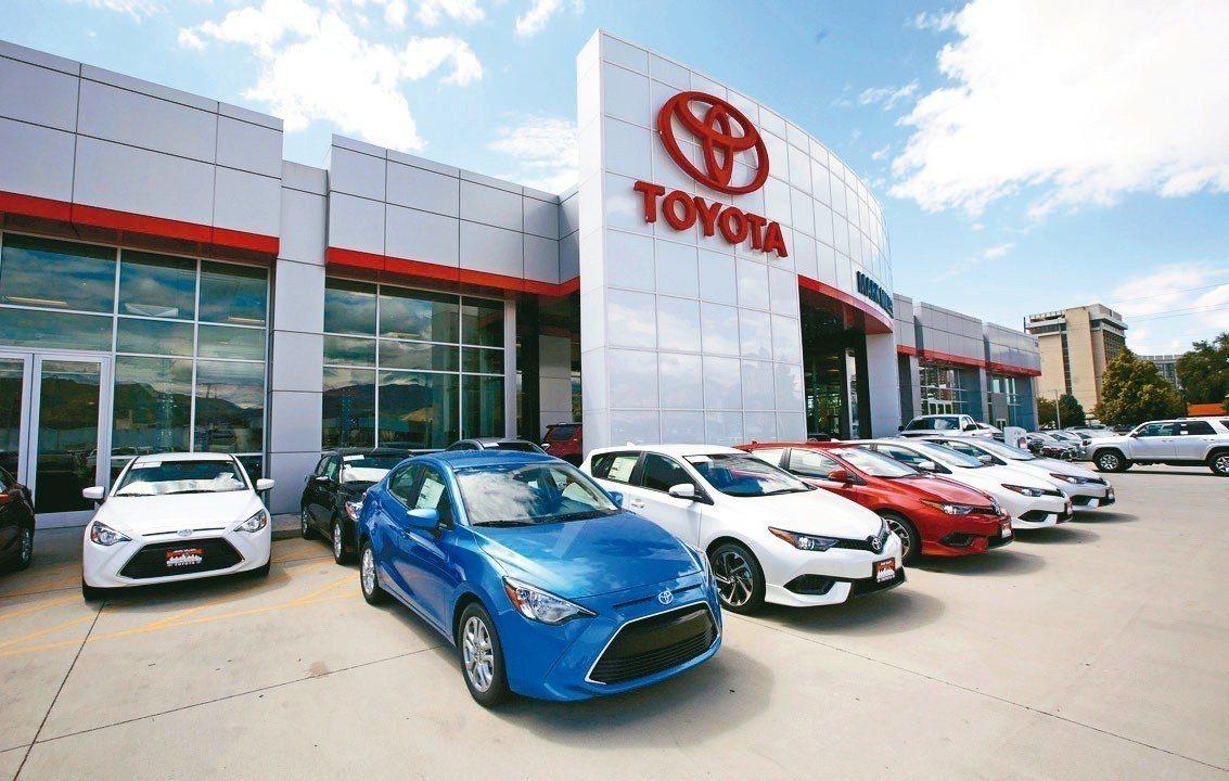 豐田上季賺進59億美元,為同期新高。 美聯社