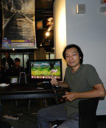 宇聯軟藝公司遊戲設計者蘇奕彰表示,遊戲是創意的體現,更是台灣文化的開創者,軟實力...