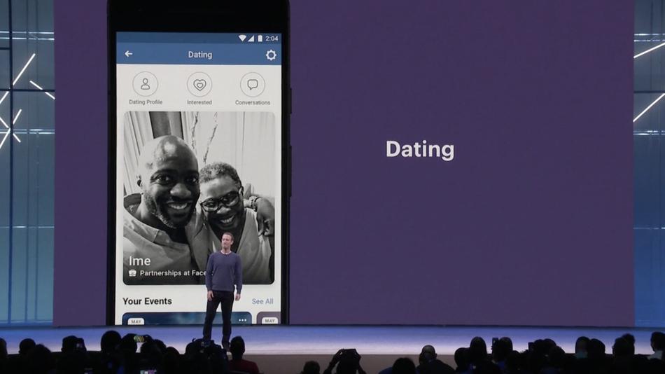 臉書2個月前在F8開發者大會宣布約會新產品後,現正在內部員工間測試這種功能。 圖...