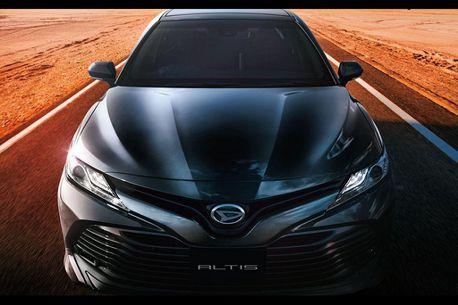 日本Altis非台灣Altis!乘Toyota Camry銷售熱潮進行配備調整