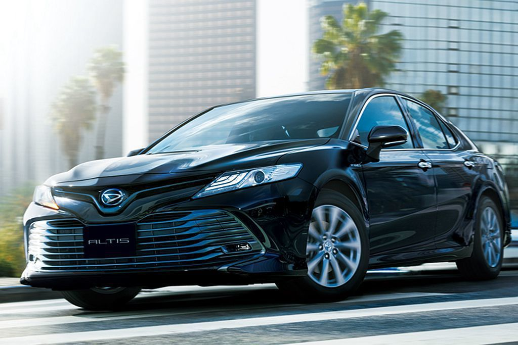 Daihatsu Altis其實就是Toyota Camry雙生車,並只有在日本...