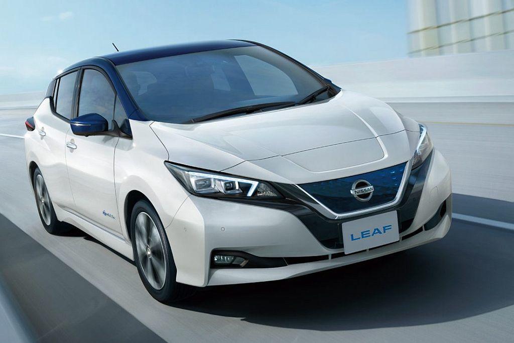 全新第二代Nissan Leaf目前依然是全球最暢銷的電動車款。 圖/Nissan提供