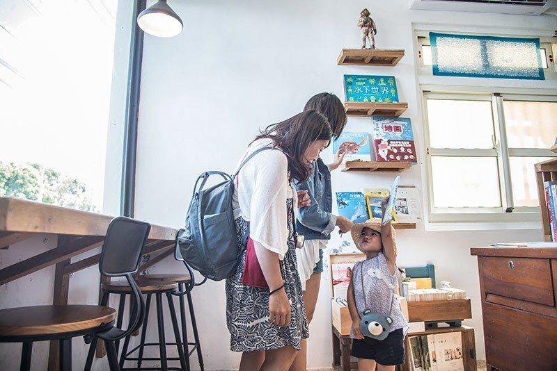 適合帶小朋友一起體驗海洋環境教育的獨立書店 攝影/行遍天下