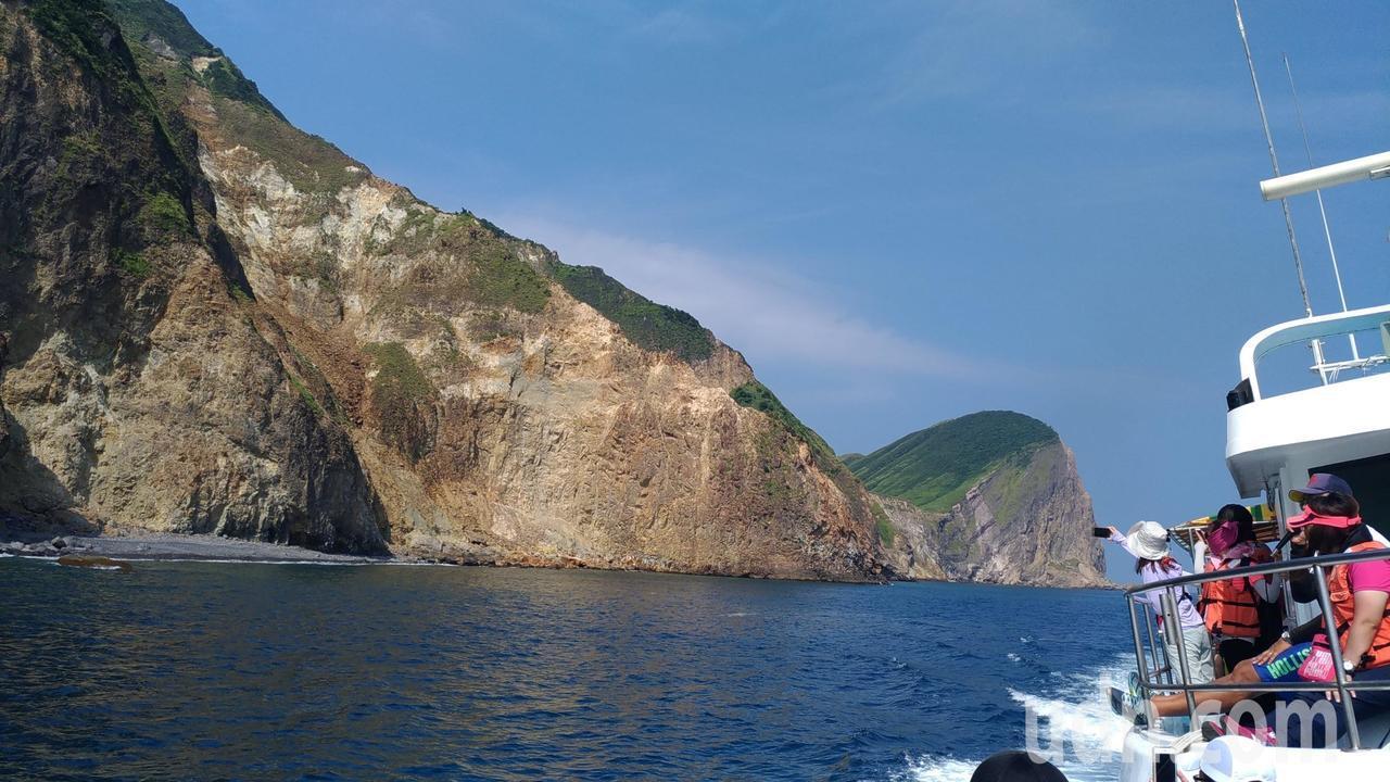 龜山島。記者楊德宜/攝影