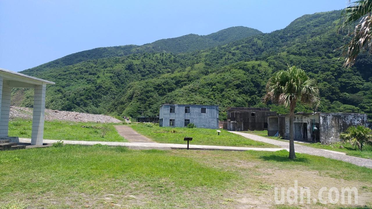 龜山島村莊舊址。記者楊德宜/攝影