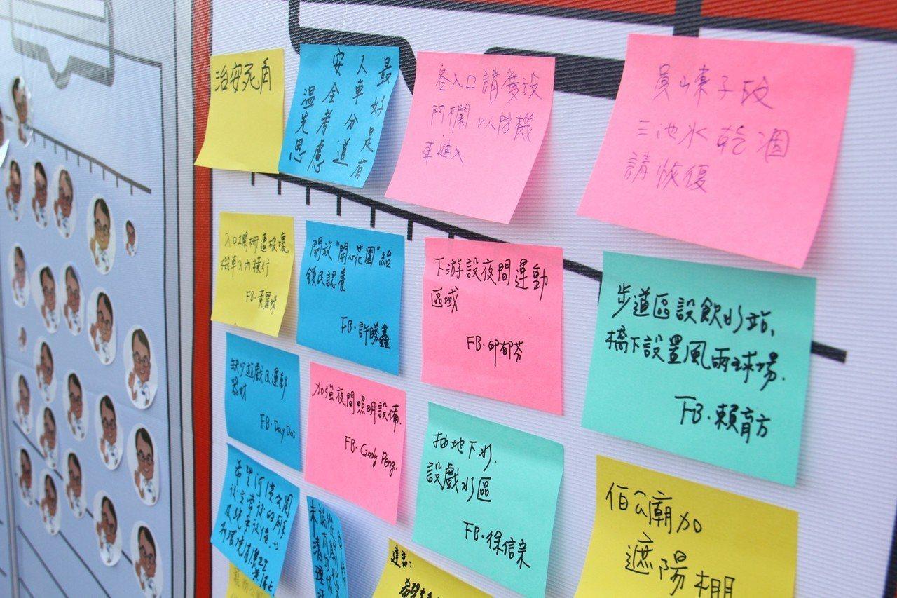 河濱公園是竹東居民重要的休憩場所,藉由活動讓民眾針對河濱公園最急迫改善的項目投票...