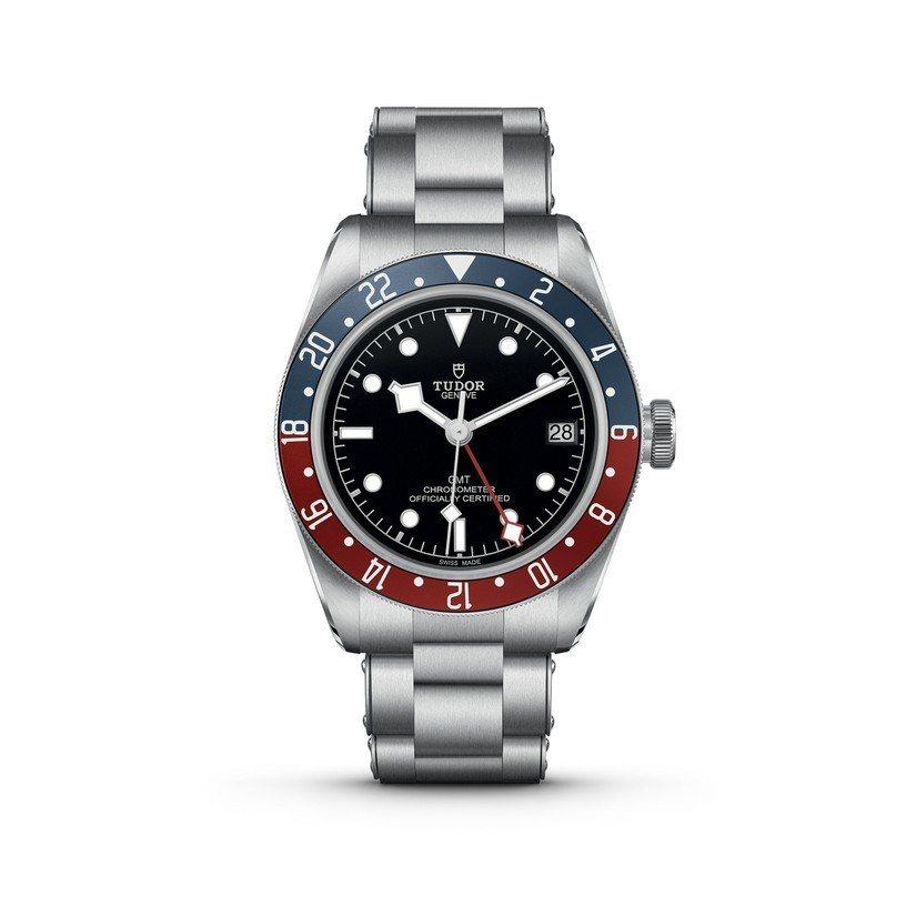 帝舵41毫米 Black Bay GMT(碧灣格林威治型)腕表,鋼表帶款12萬1...