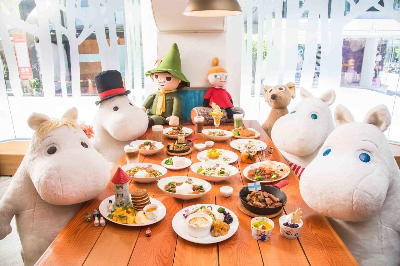 嚕嚕米主題餐廳Moomin Café開幕一週年,全新菜單、期間限定甜點同步開跑。...