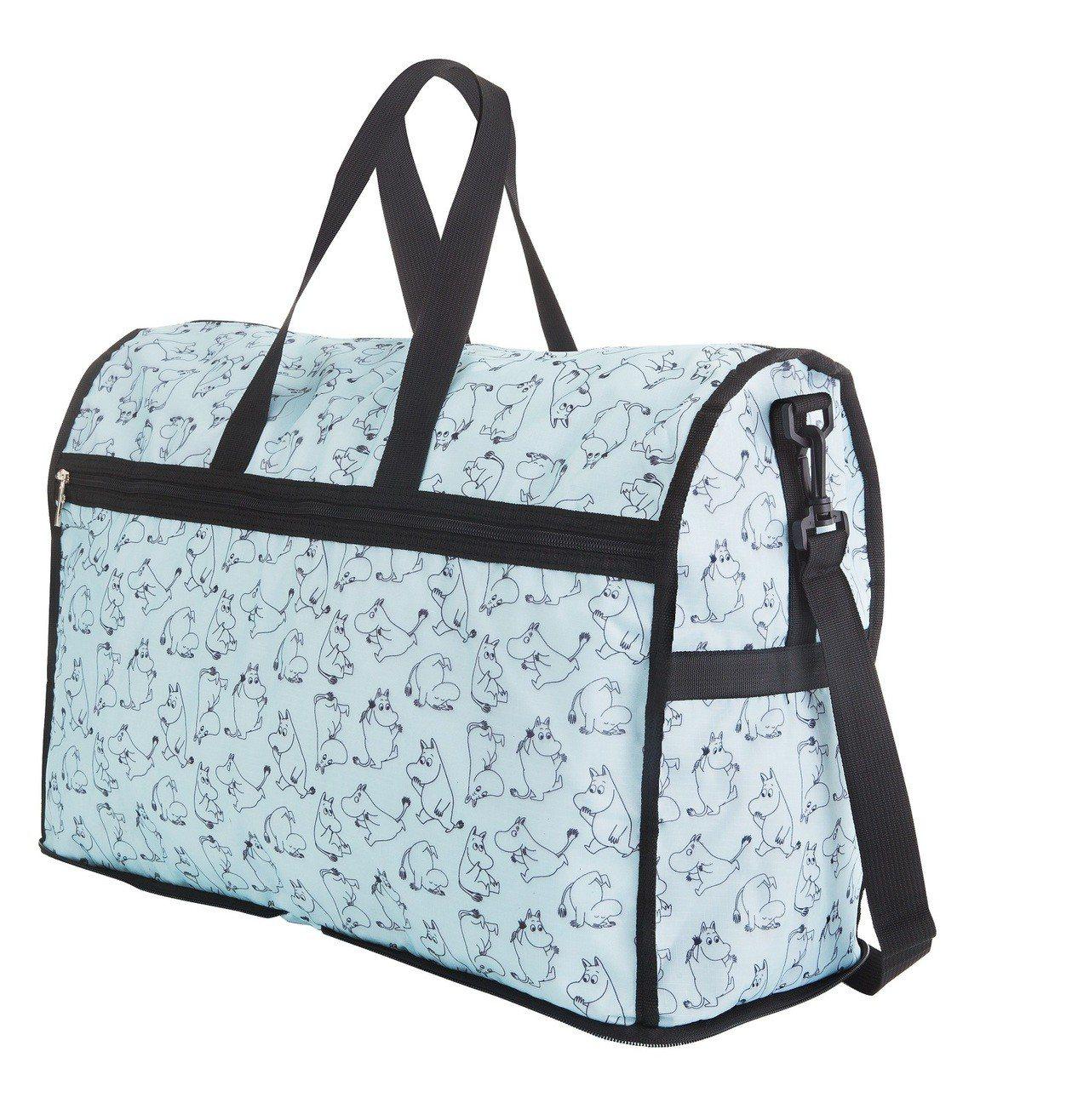 康是美MOOMIN超好裝旅行袋,8月8日至8月14日加購價249元。圖/康是美提...