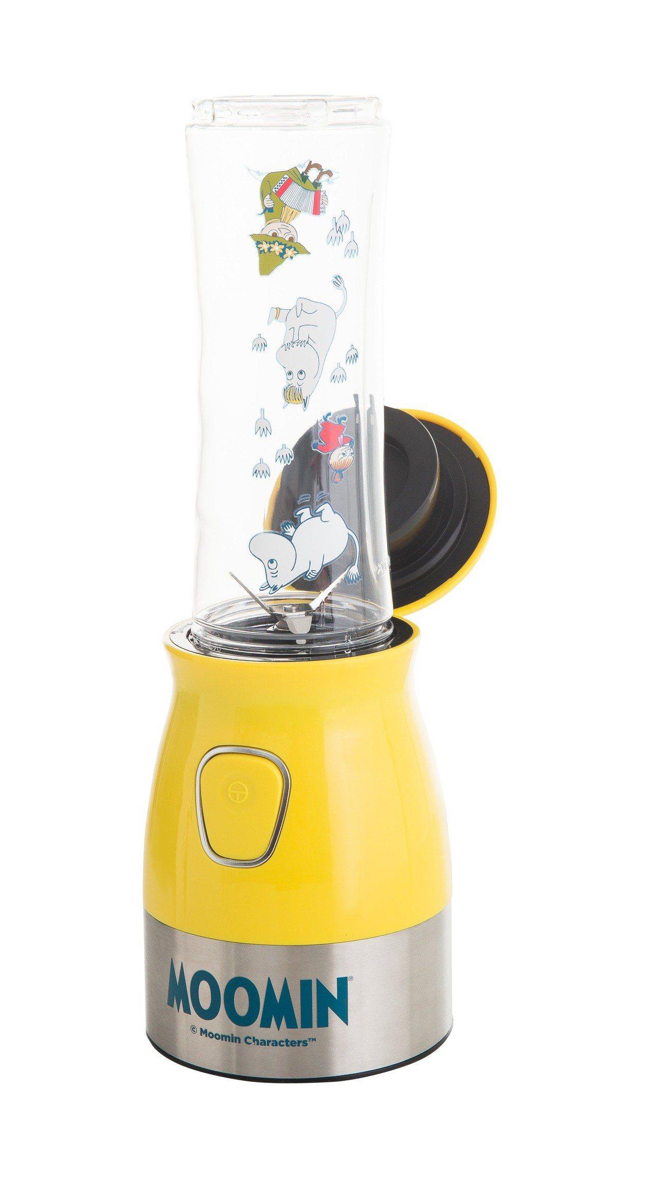 康是美MOOMIN好厲害果汁調理機,8月29日至9月25日加購價999元。圖/康...