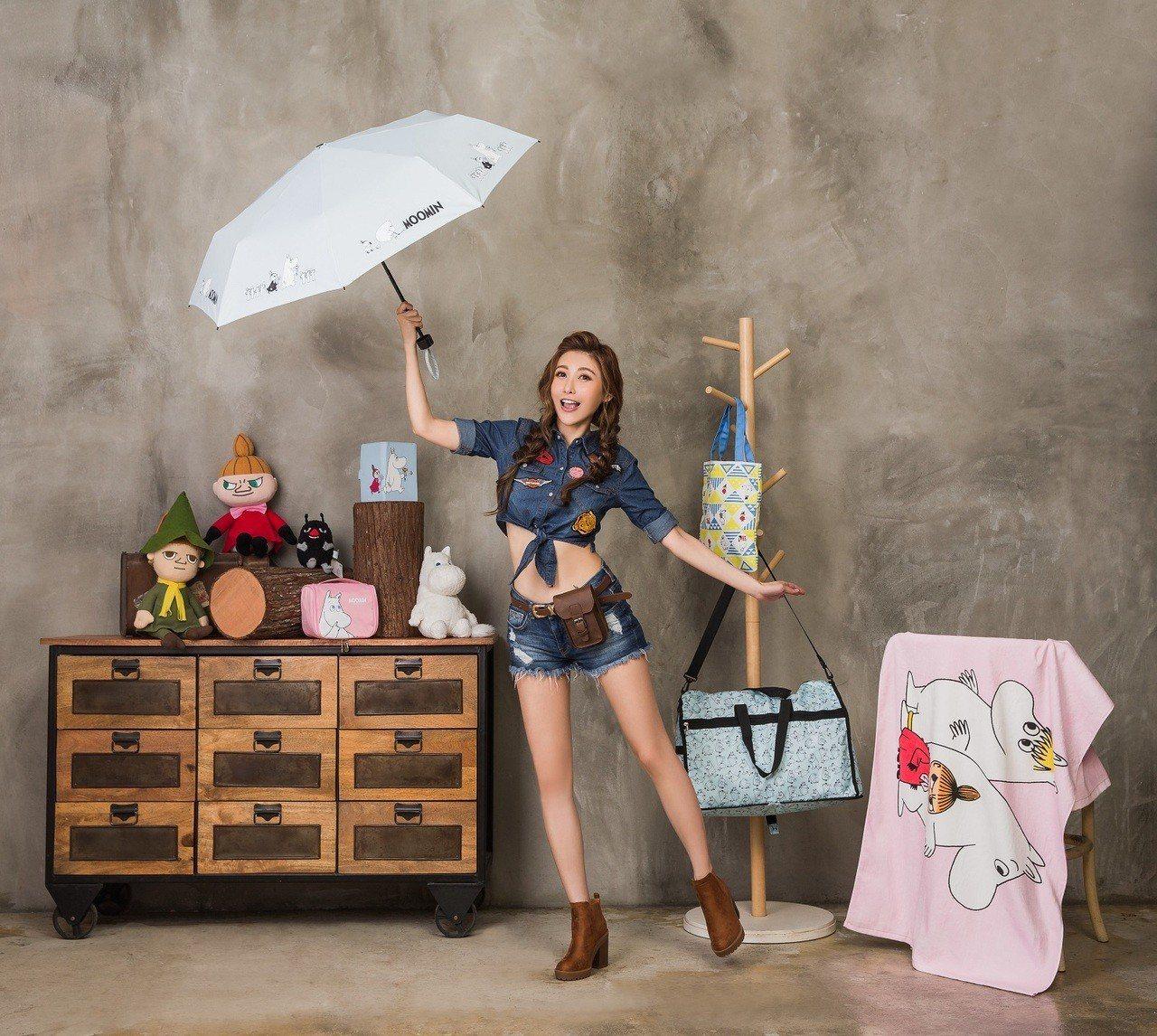 康是美「帶著MOOMIN探險一夏」共推出11款滿額加價購商品。圖/康是美提供