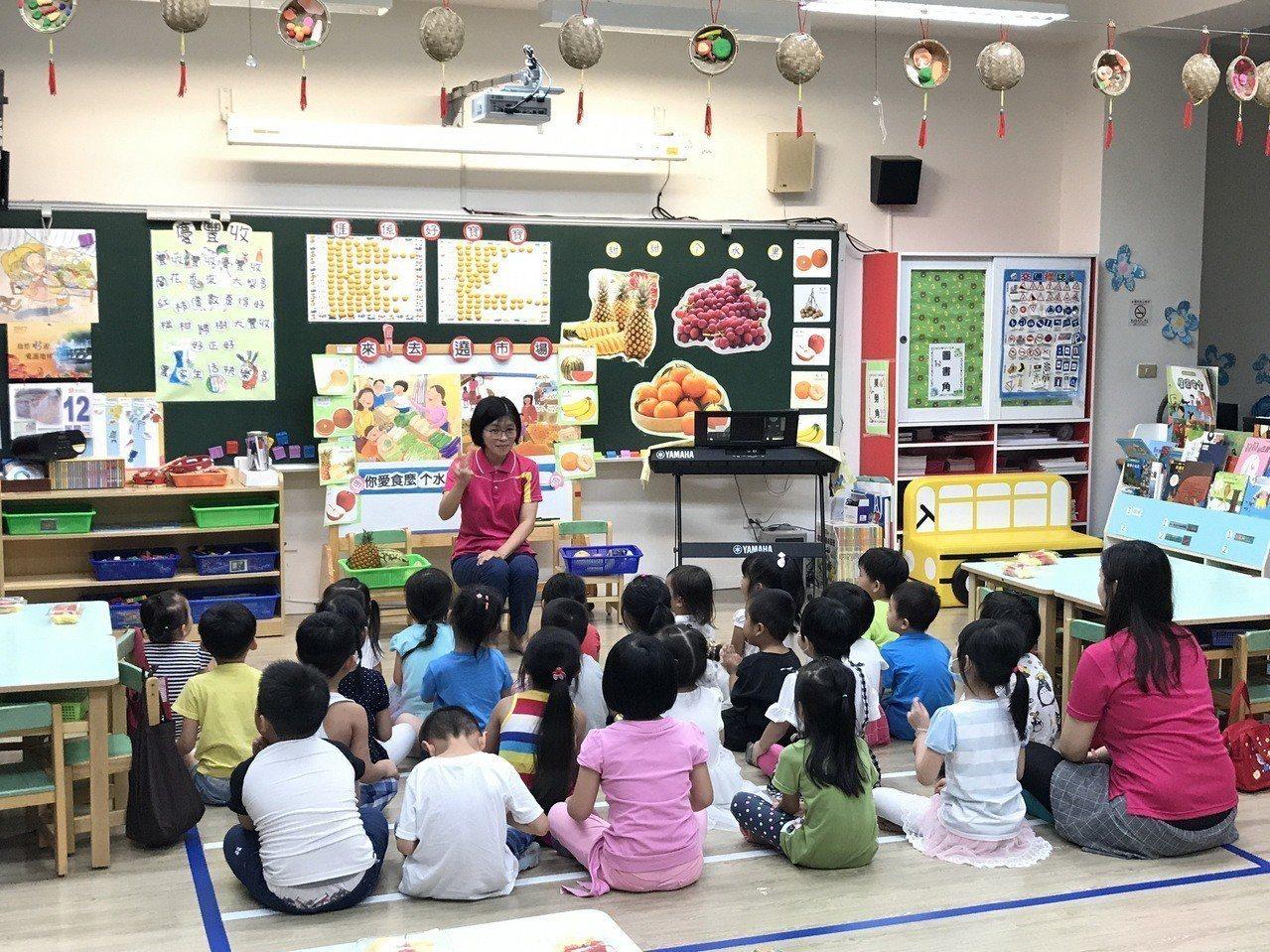 行政院推動準公共化幼兒園,六都明年才上路。中央要求106-109年台中非營利幼兒...