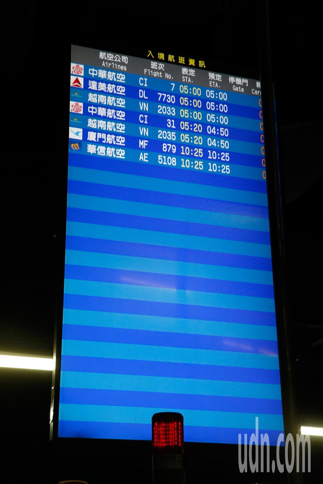 桃園機場第二航廈行李處理場下午發生一起2號「X光檢查儀」遭行李拖車撞傷,整台機器...