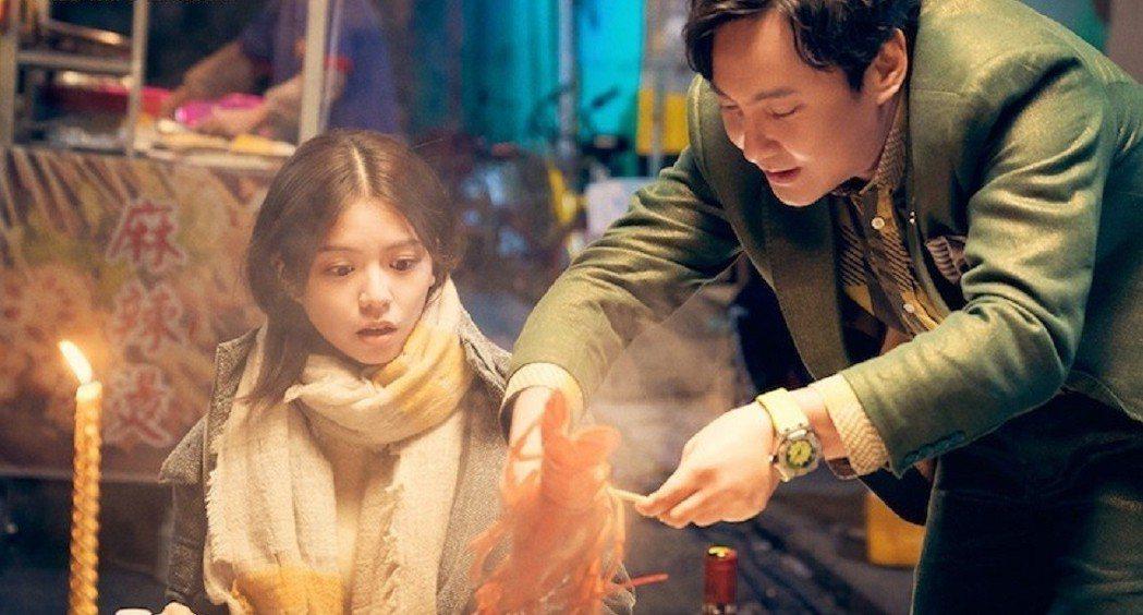 宋芸樺演出大陸電影「西虹市首富」捲入政治立場風波,裡外不是人。圖/摘自微博
