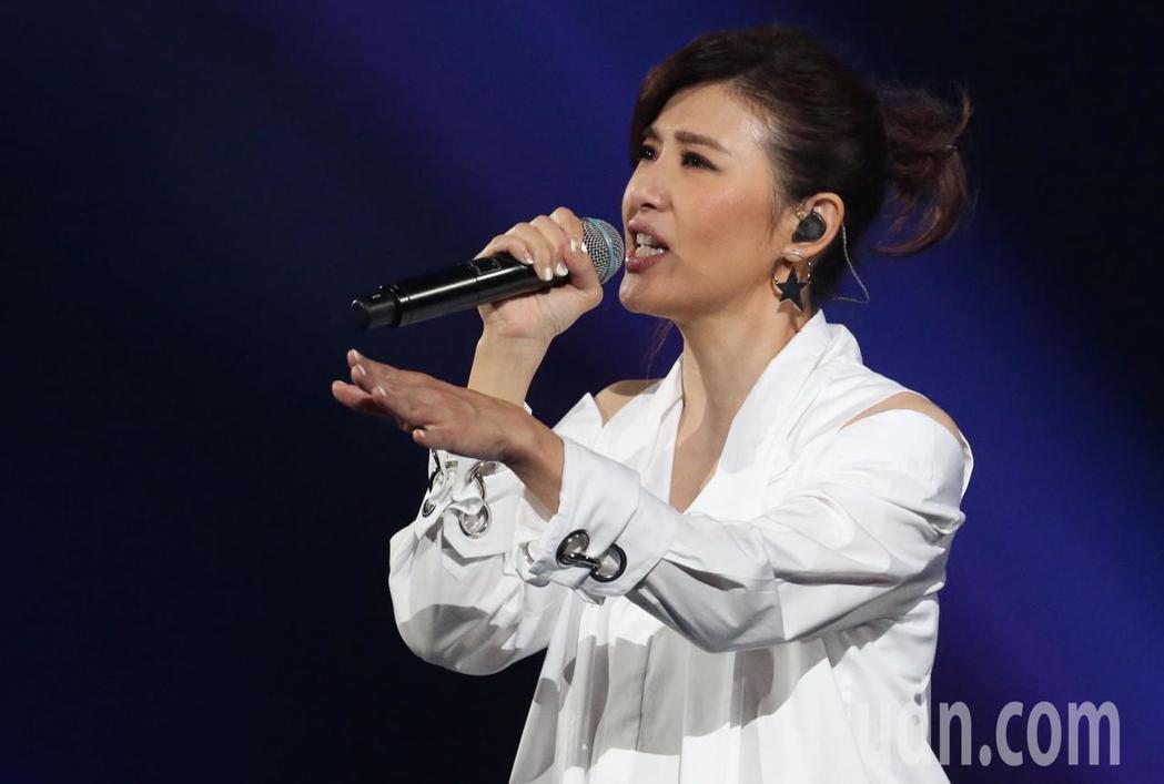 蘇慧倫重現經典檸檬樹等歌曲。記者林俊良/攝影