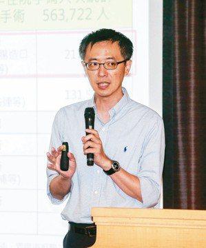 台大醫院外科部醫師林本仁 記者鄭清元╱攝影