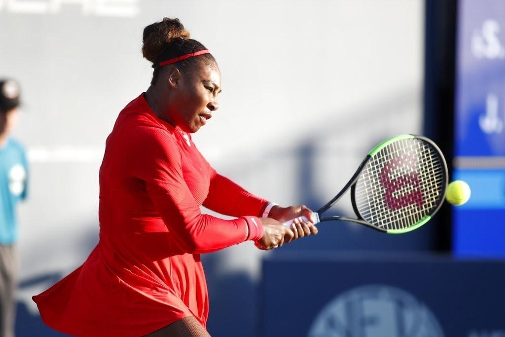 美國名將小威廉絲臨時退出蒙特婁女網賽。 美聯社