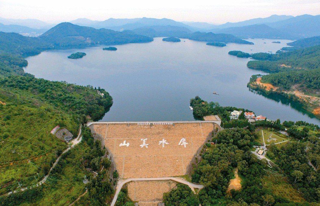 陸方供水水源來自泉州晉江流域,上游有山美水庫作為調節。 (新華社)