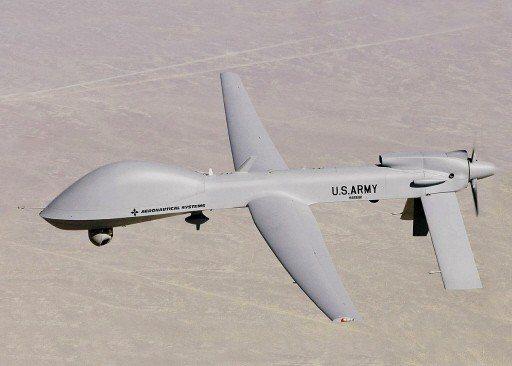 灰鷹無人機。 圖/取自維基百科