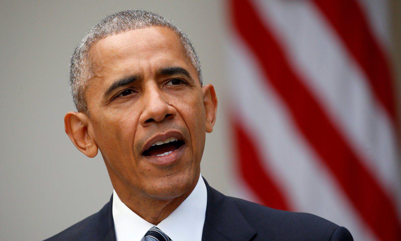 歐巴馬將積極助選但避與川普直接對抗。 路透社