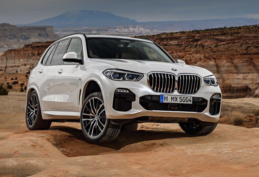 新世代BMW X5。 摘自BMW