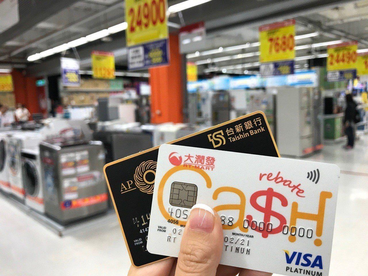 大潤發與台新、聯邦銀行合作,提供中元採購刷卡優惠。圖/台新提供
