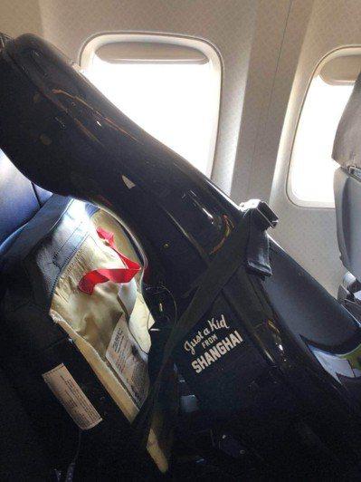 胡晶晶6月19日從芝加哥飛邁阿密時,帶著大提琴上機非常順利。(唐杰提供)