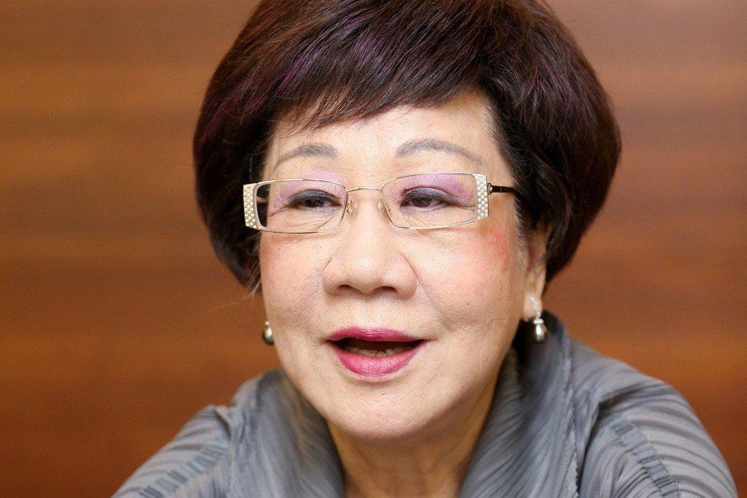 前副總統呂秀蓮。 圖/聯合報系資料照片