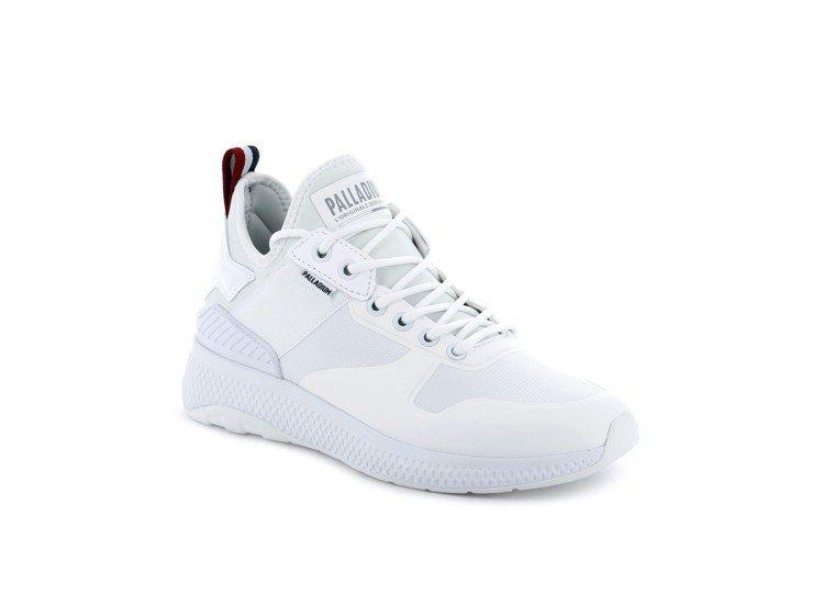 Palladium AX_EON AR Amphibian系列純白女鞋,約2,...