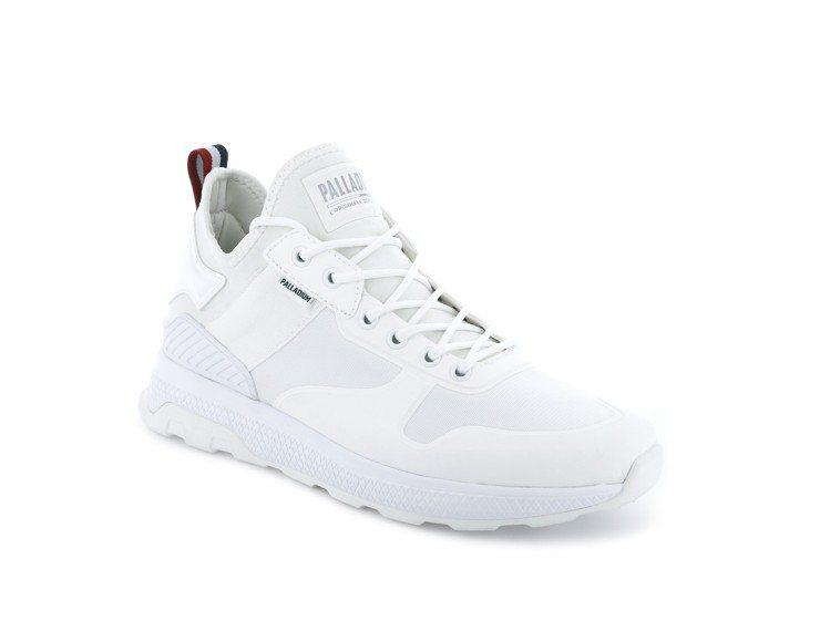 Palladium AX_EON AR Amphibian系列純白男鞋,約2,...