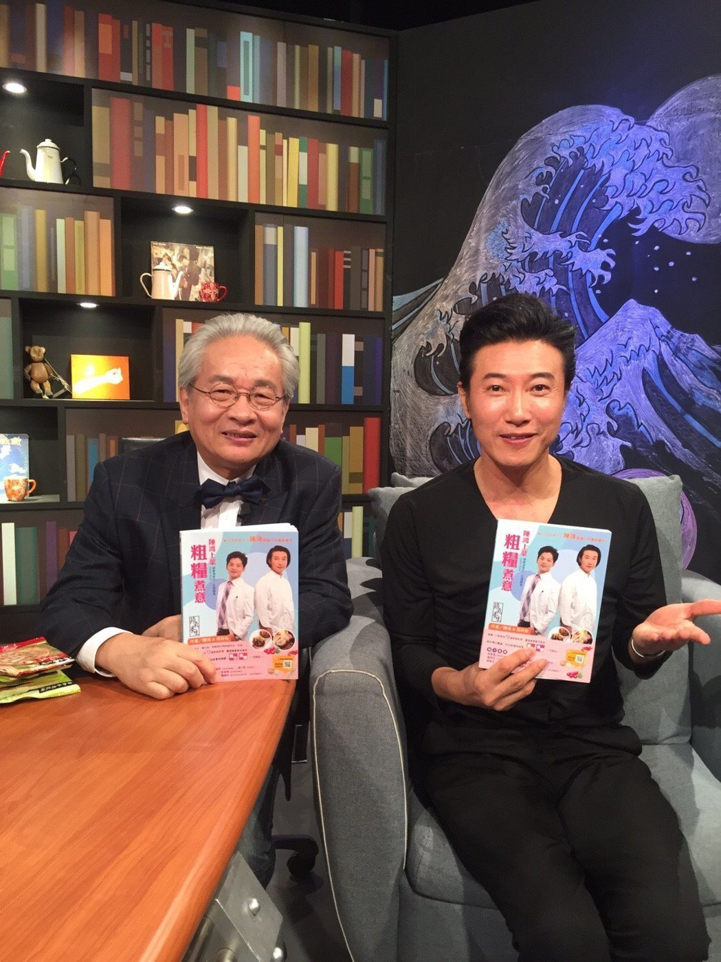 陳鴻接受馮光遠專訪。圖/民視提供