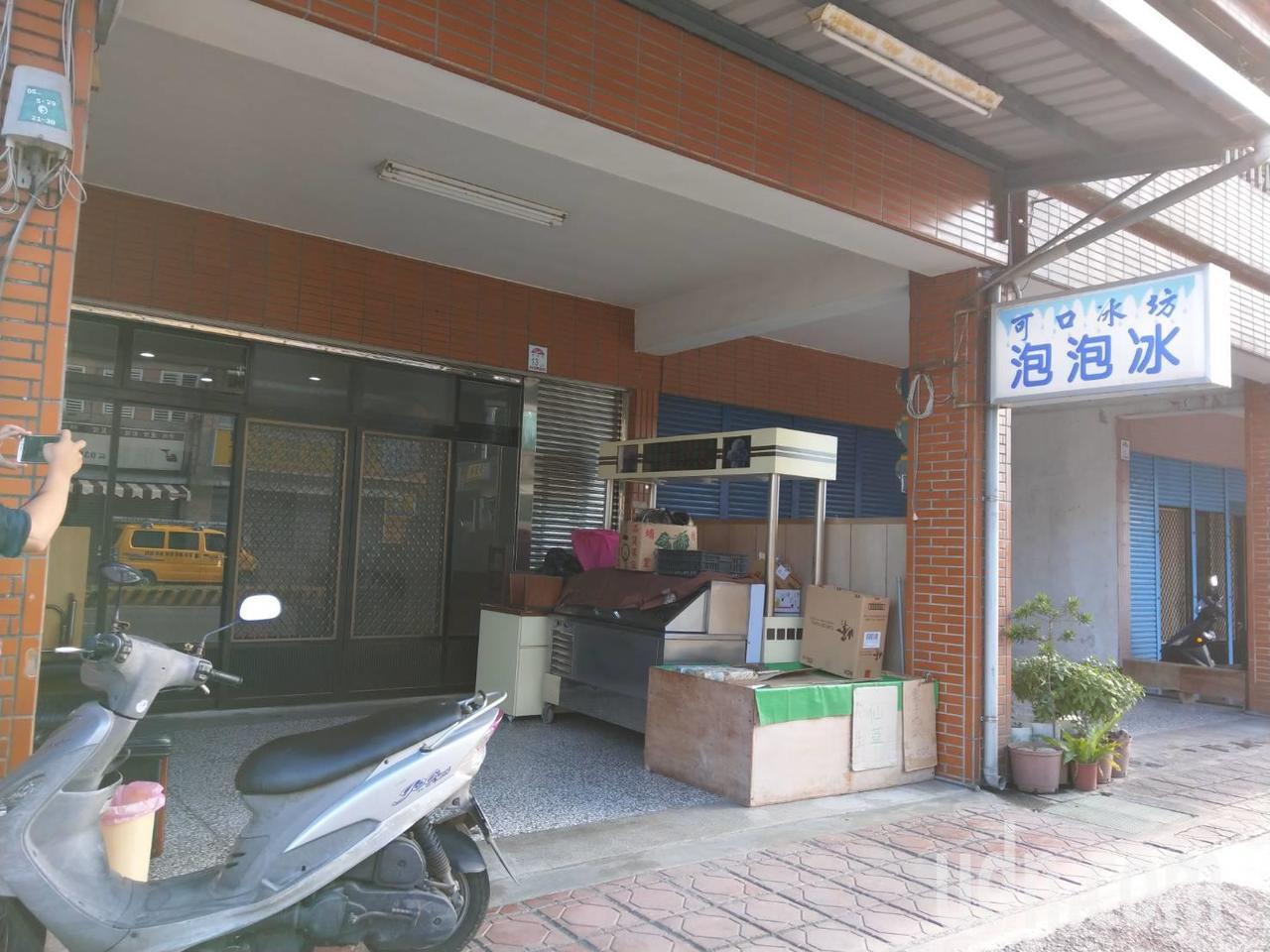 宜蘭市發生逆子弒母案的冰店。 記者戴永華/攝影