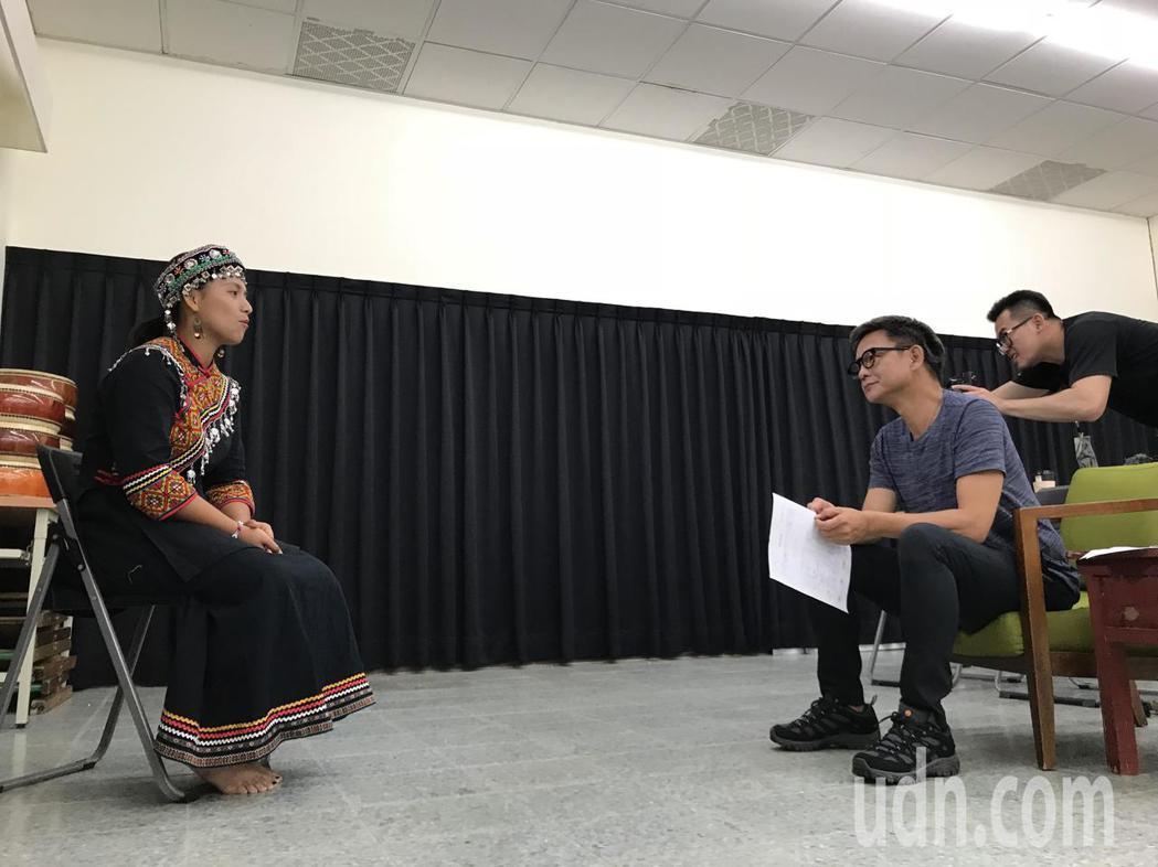 公視旗艦歷史劇「傀儡花」將在屏東取景拍攝,屏東青年學院今天舉行一場演員徵選,共有