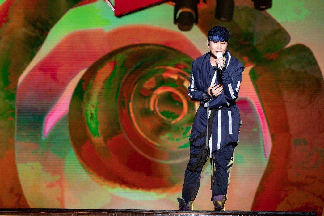 林俊傑昨在天津開唱。圖/JFJ Productions提供