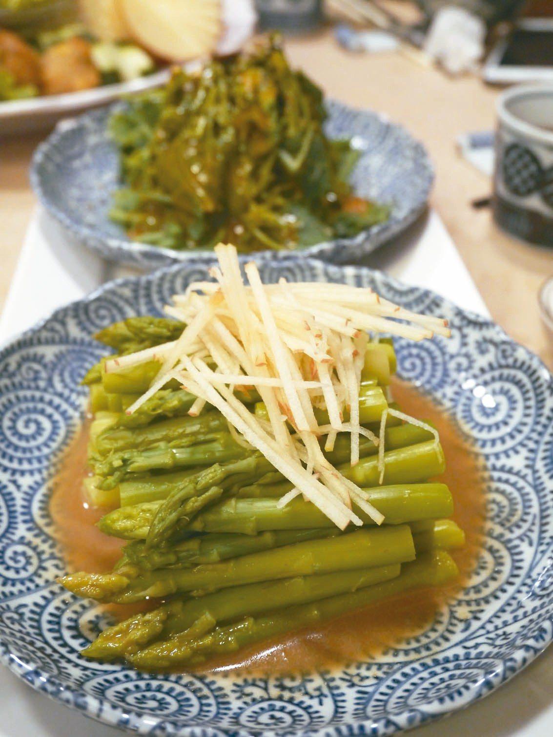 筑馨居的素菜也很有滋味。 記者羅建怡/攝影