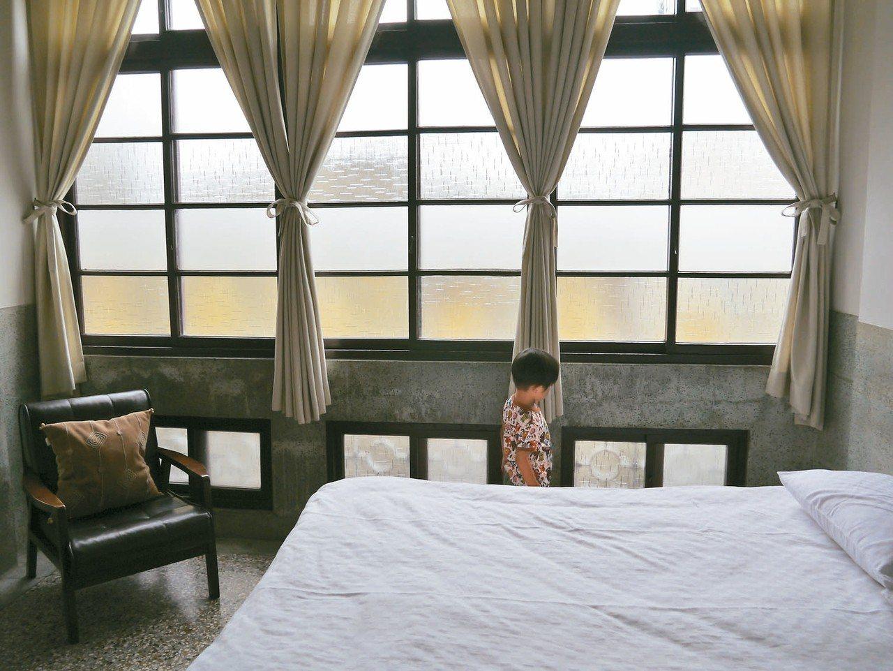 神榕147老屋的房間保有昔時樣貌。 記者羅建怡/攝影