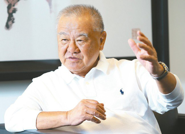 工商協進會理事長林伯豐 記者陳柏亨/攝影