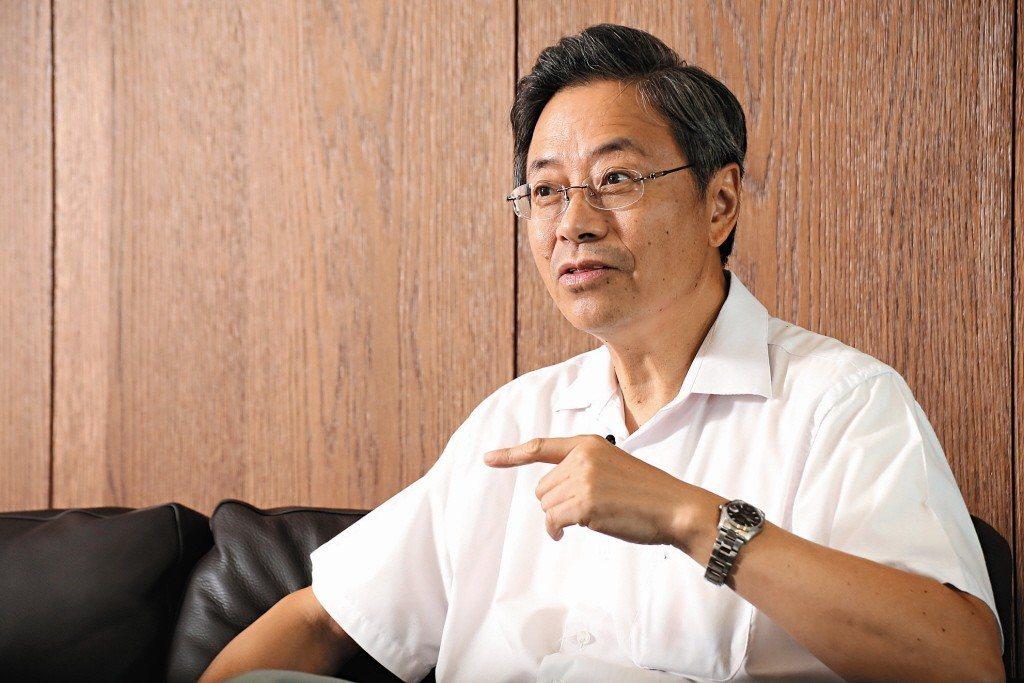 前行政院長張善政。 聯合報系資料照片/記者陳立凱攝影