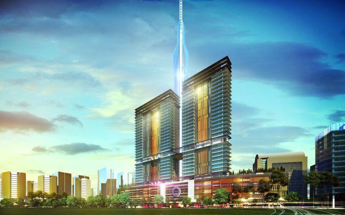 吉隆坡OPUS建案地點正對吉隆坡即將落成的超A級辦公室─「KL118」僅250公...