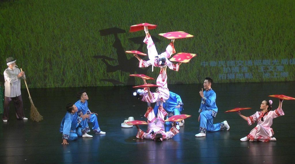 這次訪團由國立臺灣戲曲學院臺灣特技團籌組,以「神采飛揚臺灣情」為主題,結合舞蹈、...