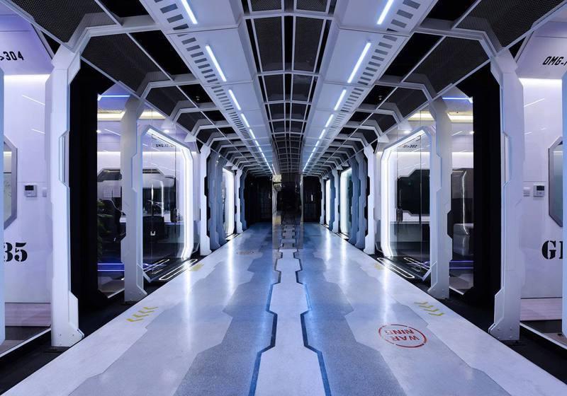 圖/OMG超豪華訓練室曝光 簡直是個太空戰艦!