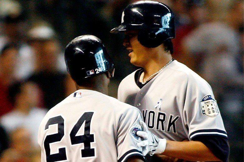 王建民(右)和卡諾(左)從小聯盟開始就一起打拚,後來都成為洋基陣中的明星球員。 ...
