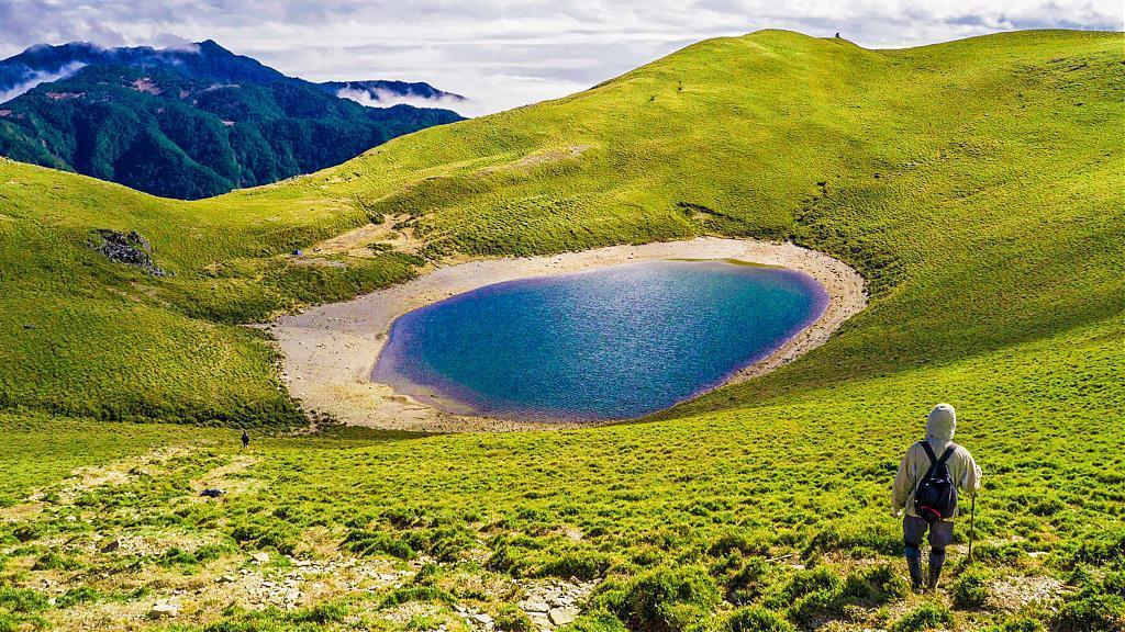 ▲台東秘境景點-嘉明湖。(圖/Tripbaa趣吧!亞洲自由行專家)