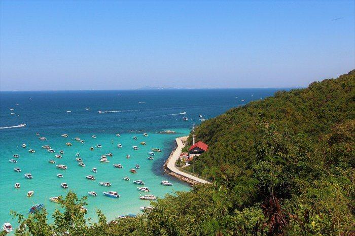 珊瑚島(Koh Larn)。 圖/google