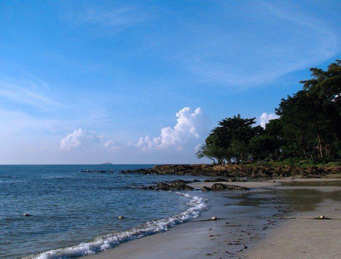 沙美島。 圖/google