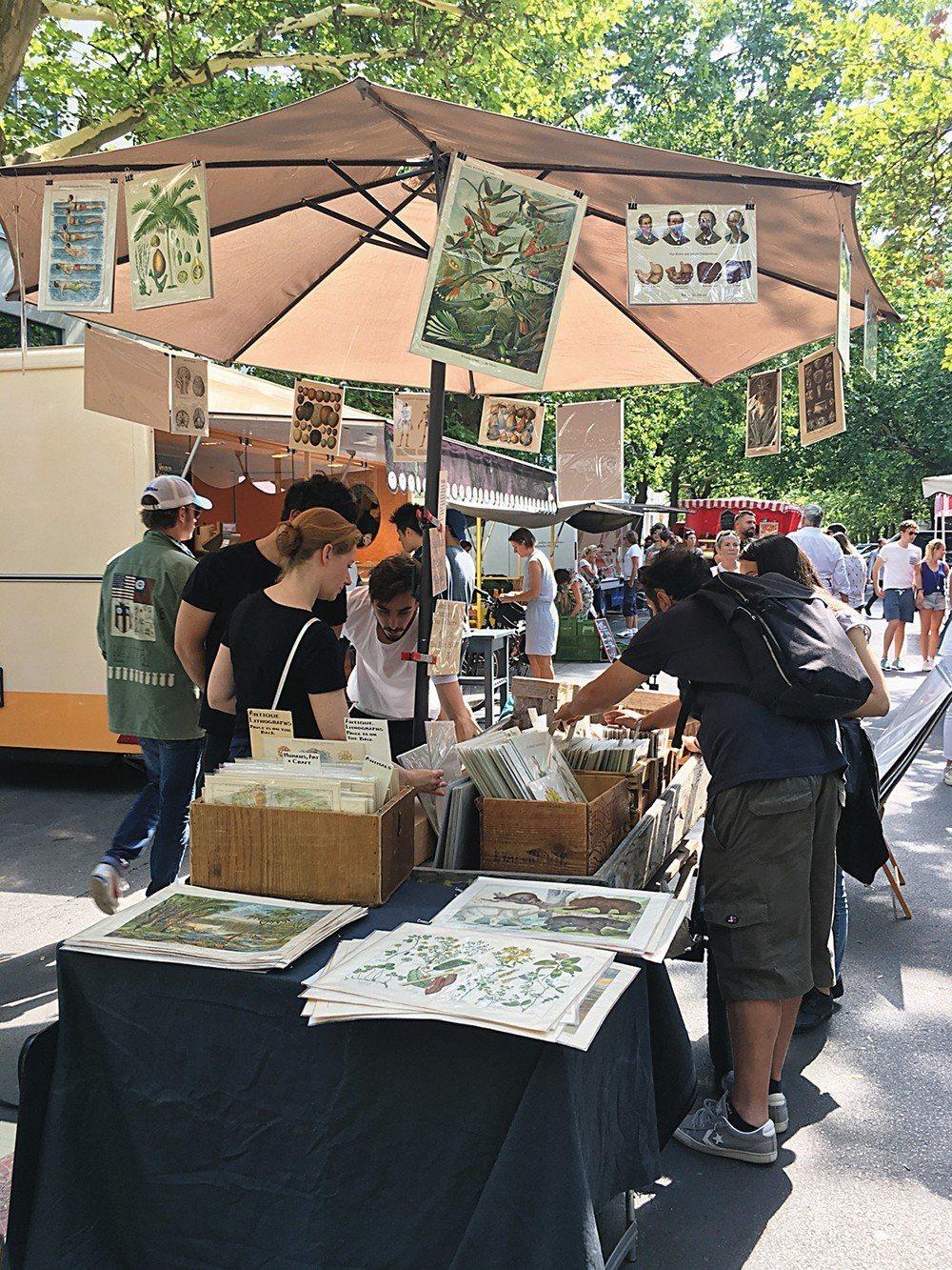 柏林最有氣質的市集 Kollwitzplatz Farmer's Market